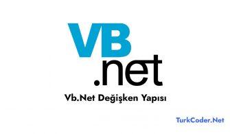 Vb.Net Değişken Yapısı