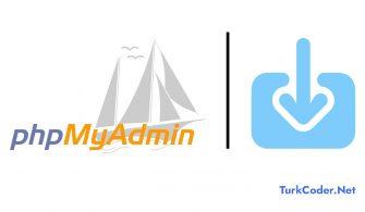 Phpmyadmin import limitini yükseltme