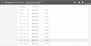 Google merchants ağırlık orantılı kargo yapılandırması