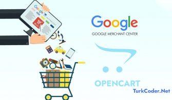 Opencart-Google-merchant-xml-entegrasyonu