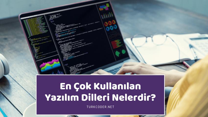 En Çok Kullanılan Yazılım Dilleri Nelerdir?