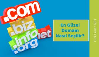 En Güzel Domain Nasıl Seçilir?
