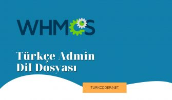 Whmcs Türkçe Admin Dil Dosyası