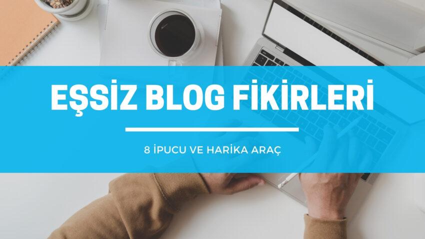 Eşsiz blog fikirleri